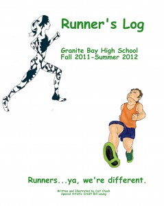 runner's log cover