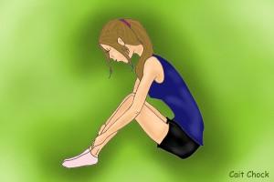 girl depressed