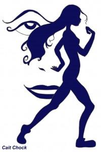 runner optical illusion