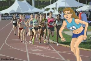 running racer