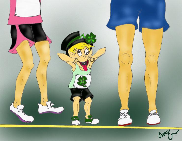 leprechaun runner