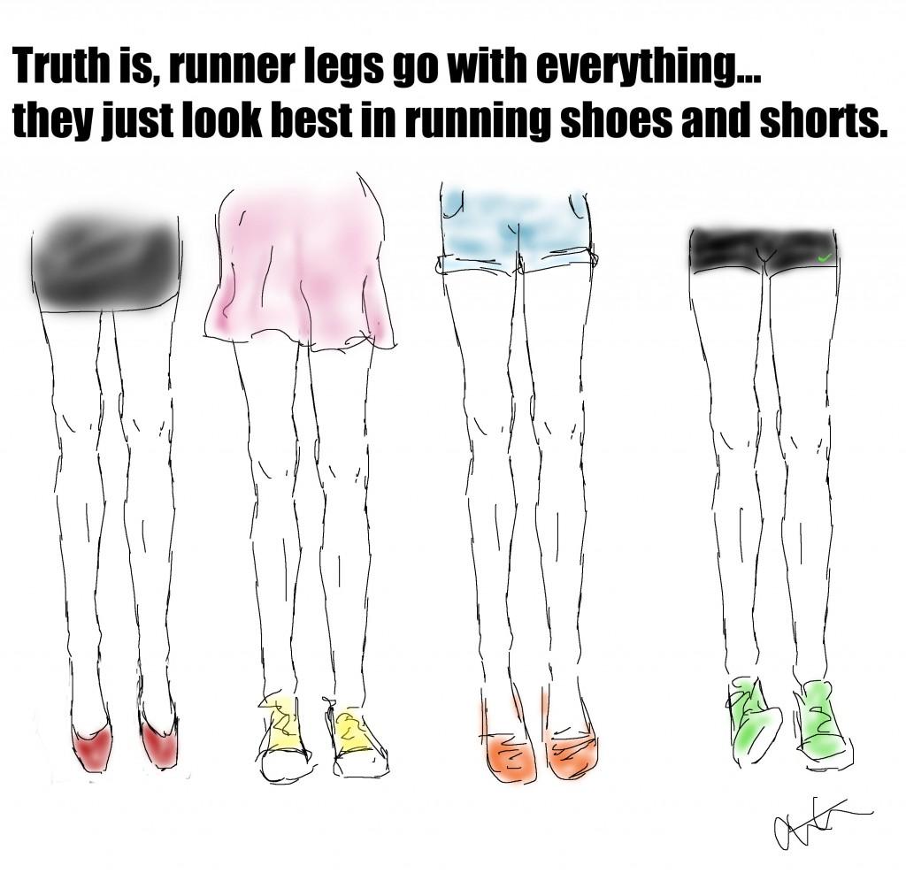 runner legs