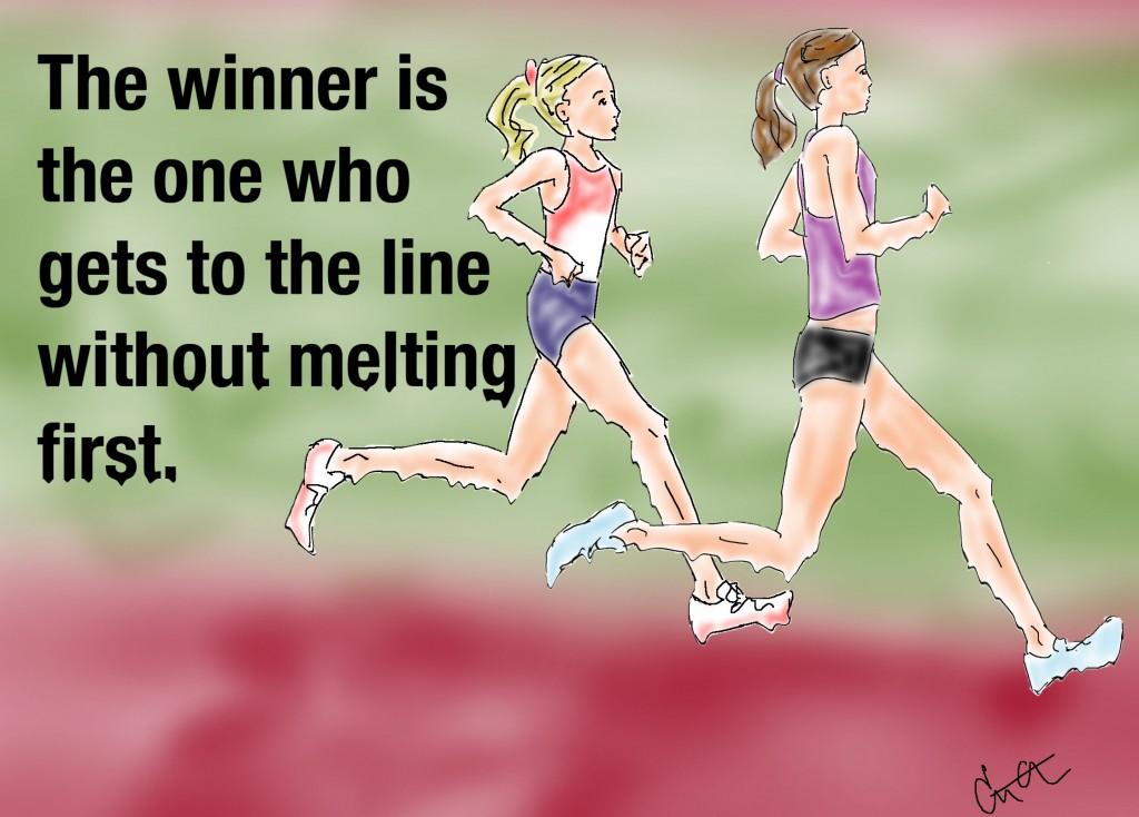 melting runners