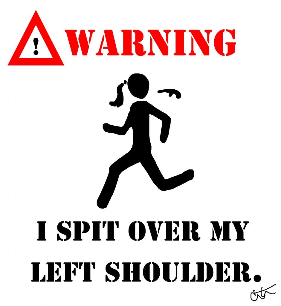 runner spitting