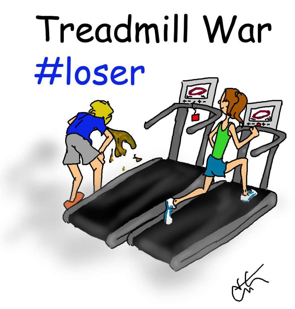 treadmill war