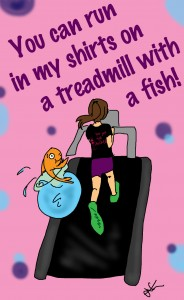 fish on treadmill
