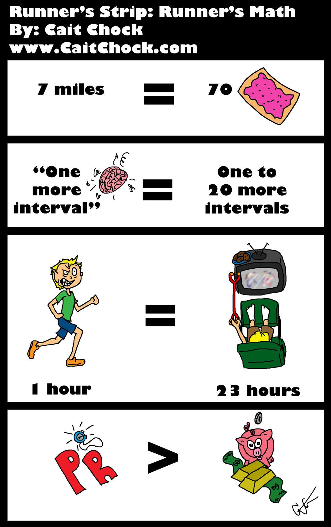 runner math