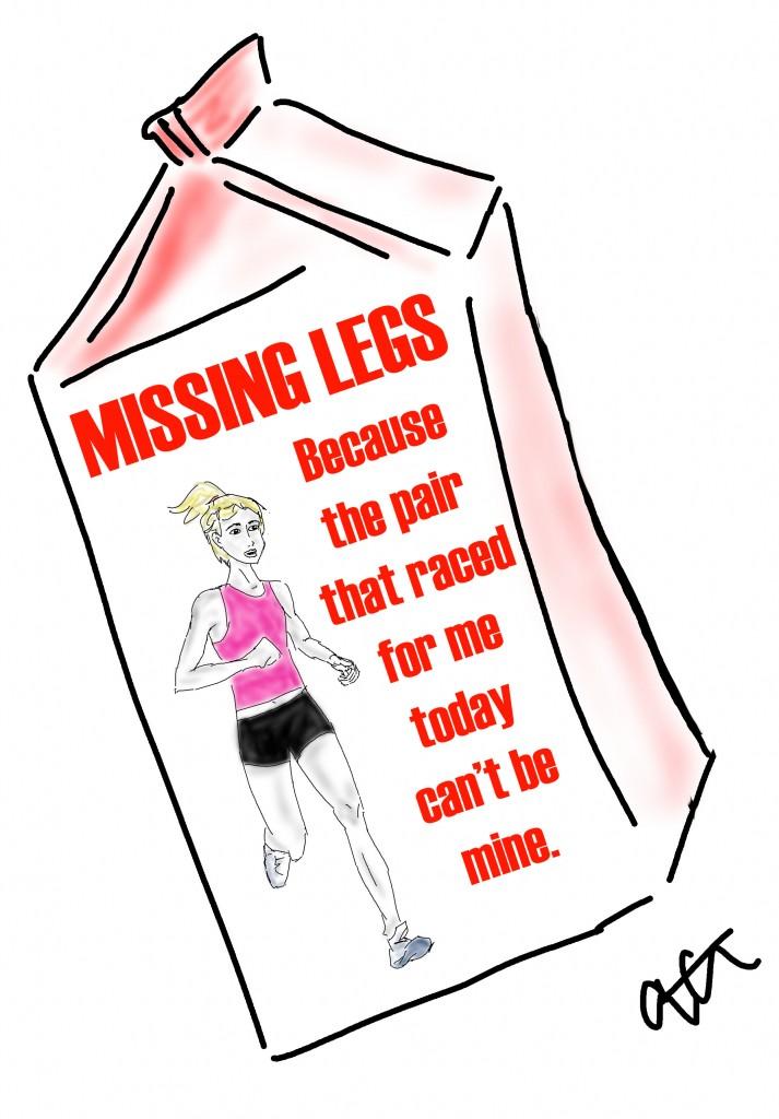 missing legs