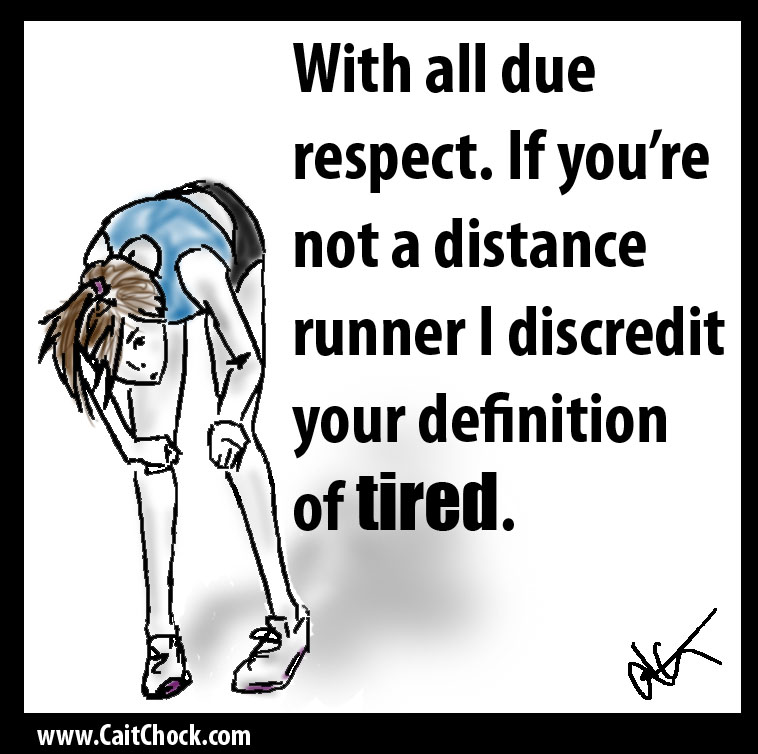 tired runner