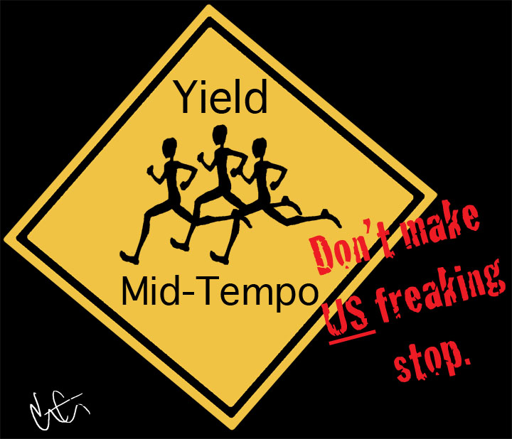 yield for runners