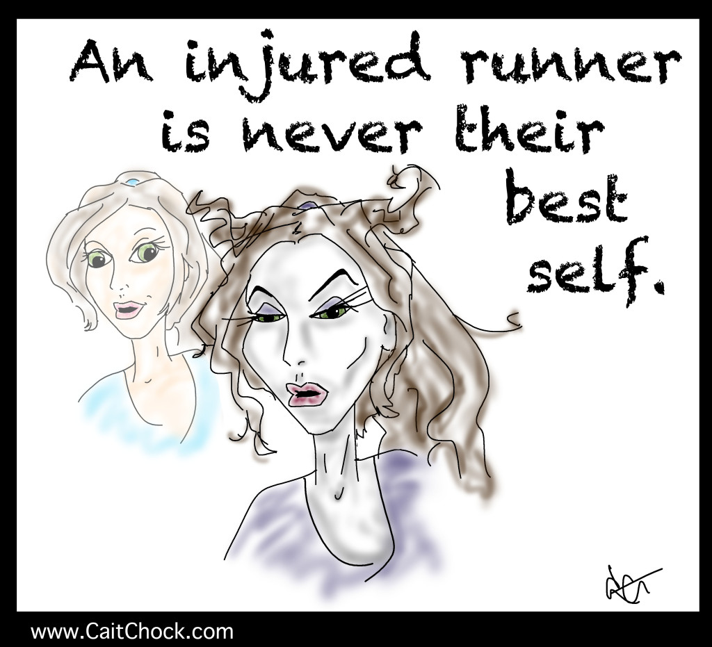 injured runner art
