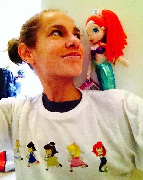 running princess shirt