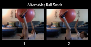 alternating ball reach