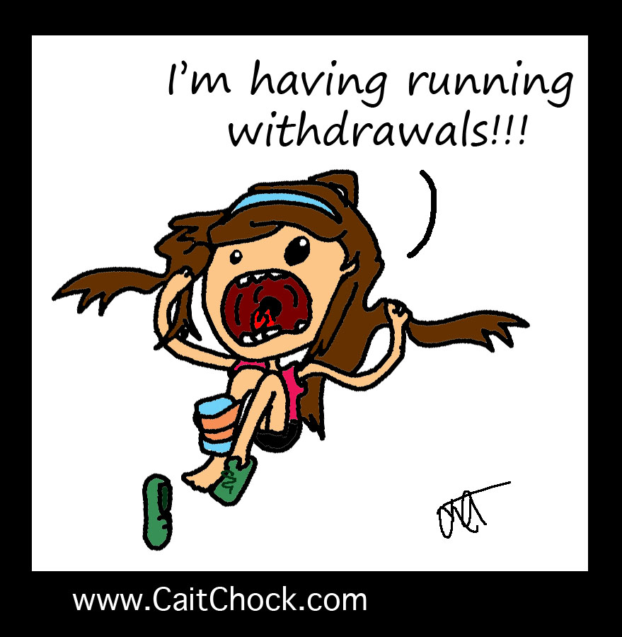 injured runner cartoon