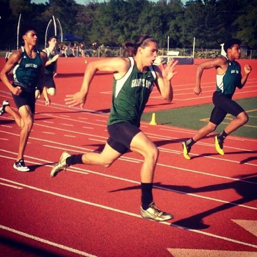wesley track sprinting