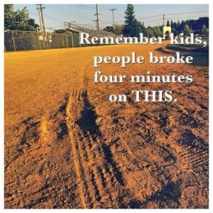 dirt track mile