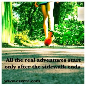 find adventure after the sidewalk ends