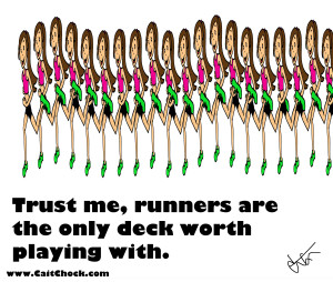 deck of runners