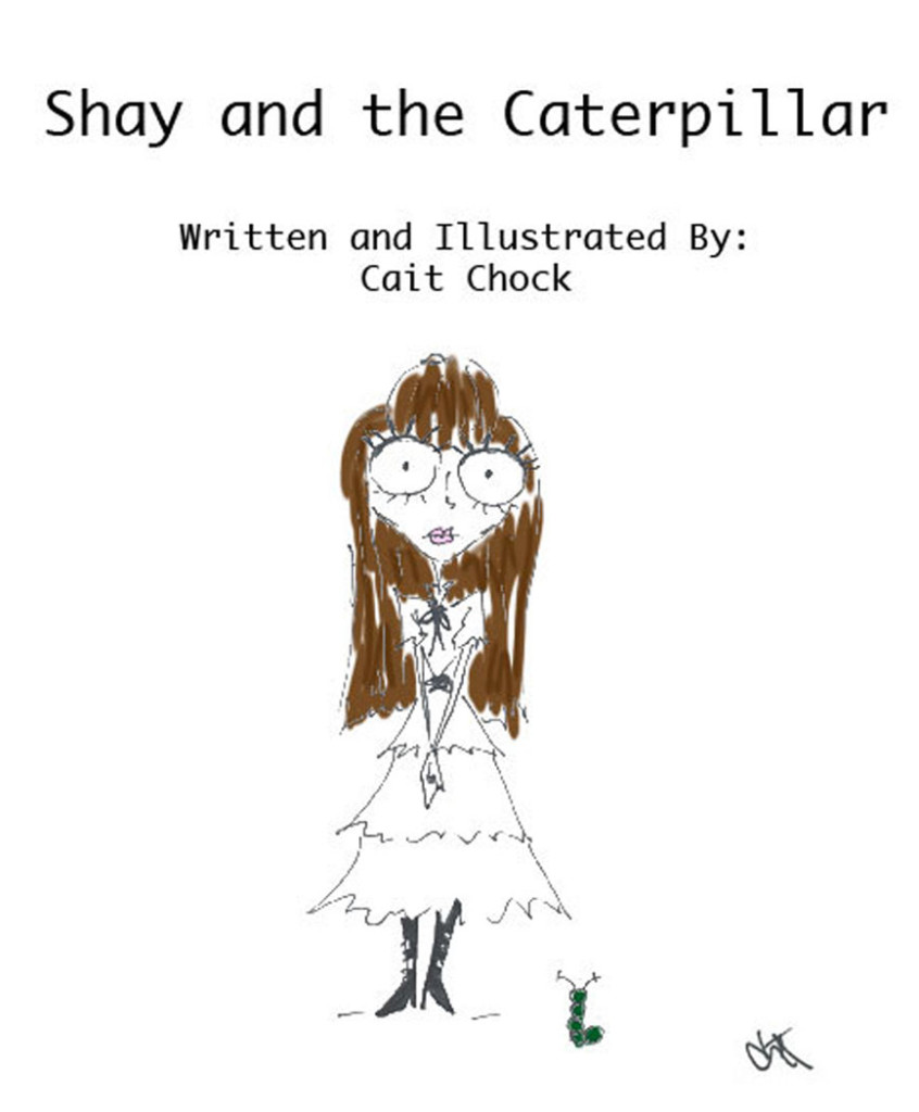 shay and the caterpillar book by cait chock