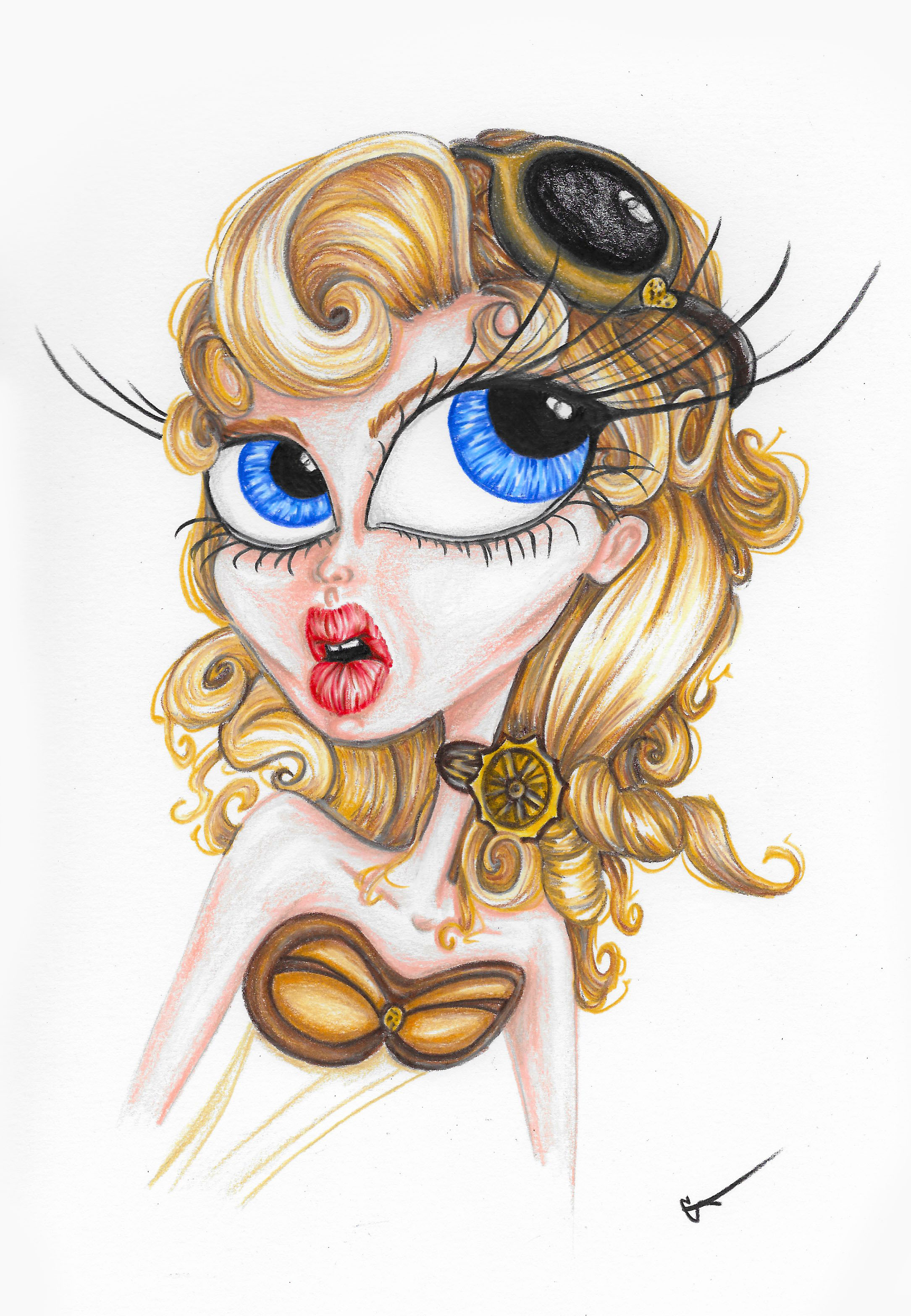 shop cait chock art steampunk daphne